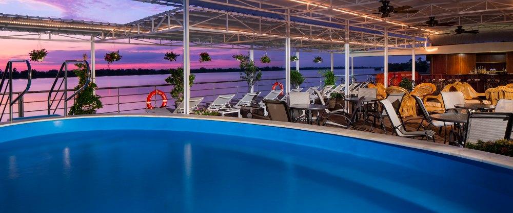 Pool Deck – Deck 3 Forward AmaDara – Amawaterways