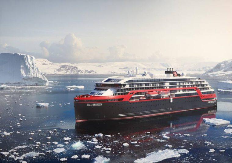 MS Roald Amundsen, Hurtigruten