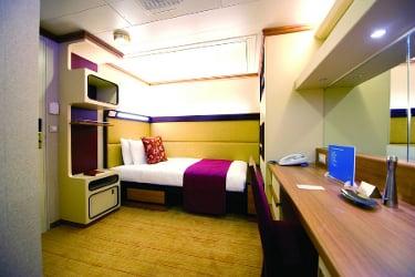 P&O Cruises' Ventura single passenger accommodation