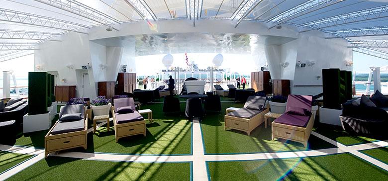 The Retreat on board P&O Cruises' Ventura
