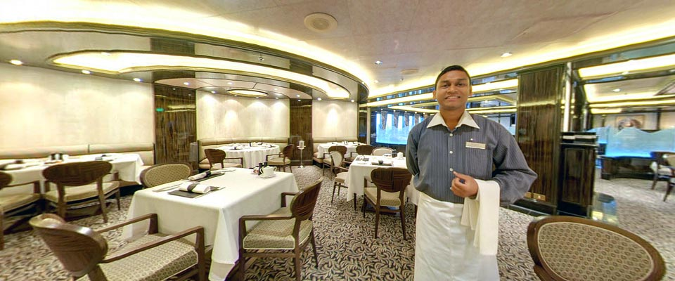 P&O Cruises Ventura dining