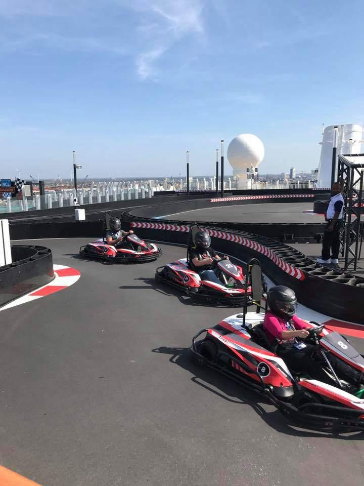 The Race Track on board Norwegian Bliss