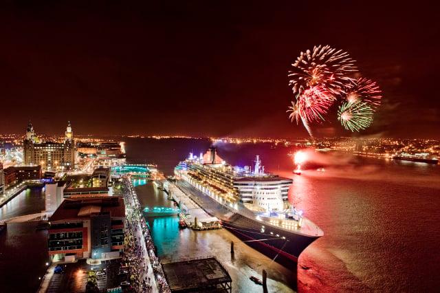 Cunard Line 175th anniversary celebrations