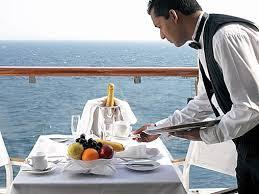 Champagne breakfast room service