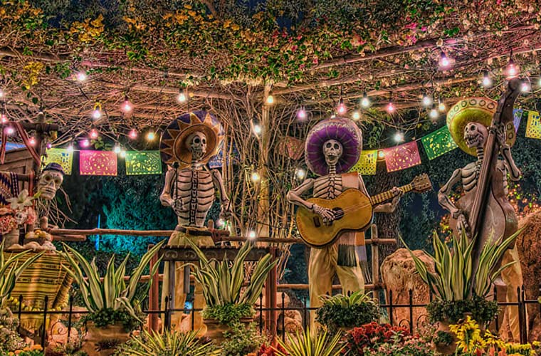 Mexico Day of the Dead celebrations