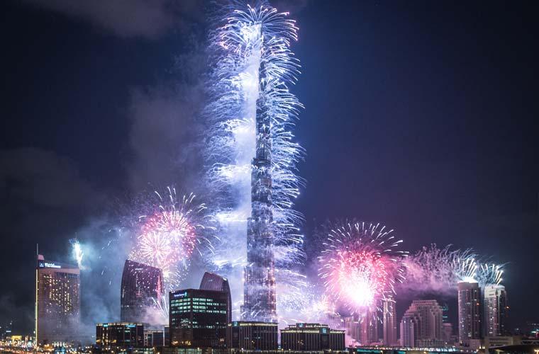 New Year's Eve in Dubai