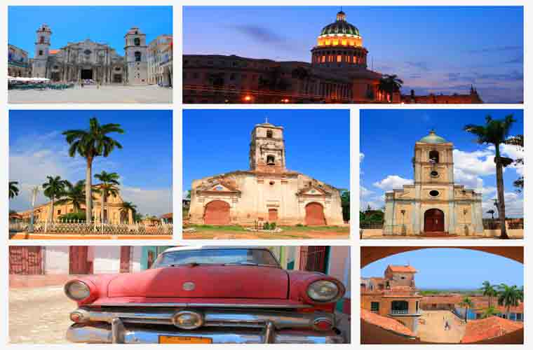 Sightseeing in Havana, Cuba