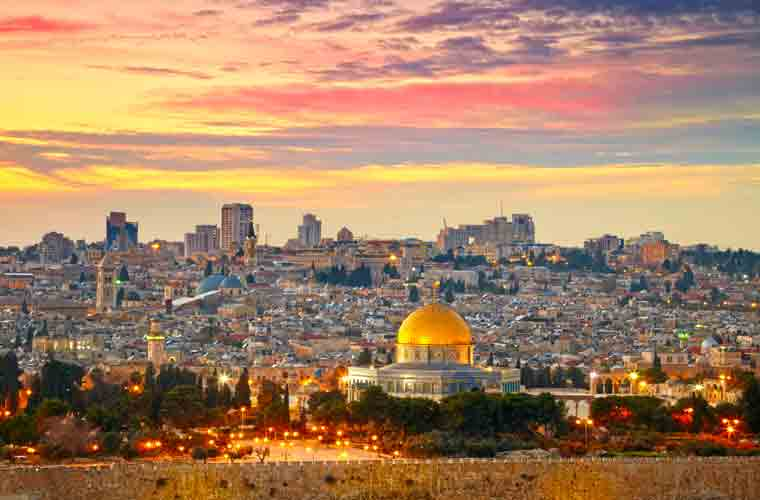 The Holy Land of Jerusalem is arguably the most historic destination in the world