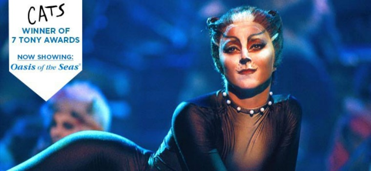 Oasis of the Seas Broadway Show - Cats