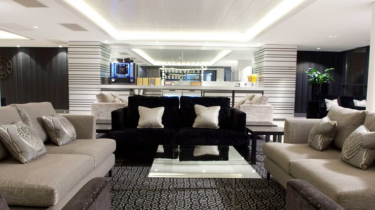 Celebrity Cruises Jet Set Sail lounge - A-List Holiday Experience