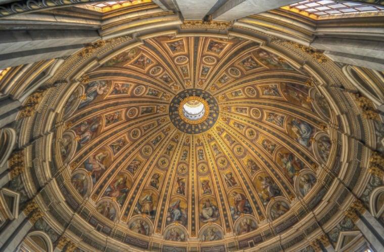 The Stanza della Segnatura by Raphael