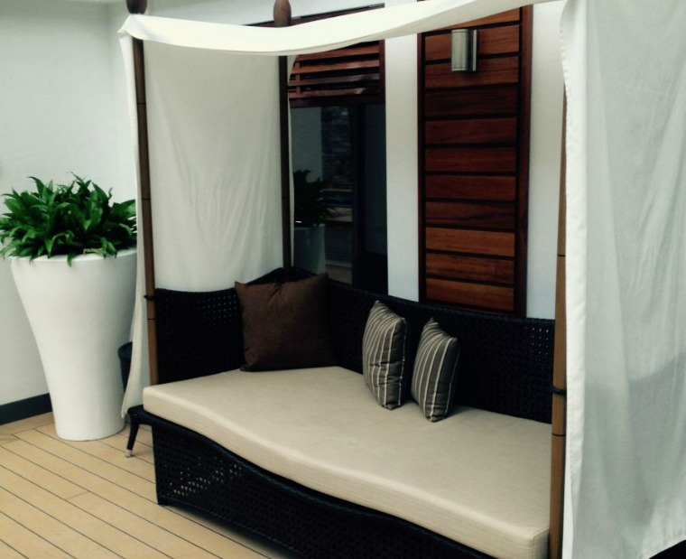 The Haven Spa area