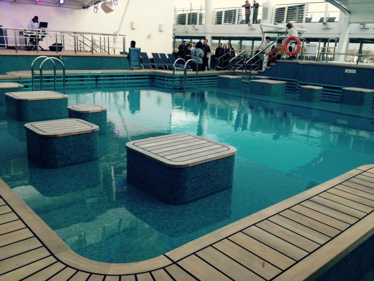 NCL Escape pool area