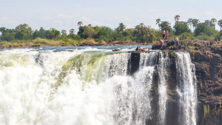 Devil's Pool – Victoria Falls