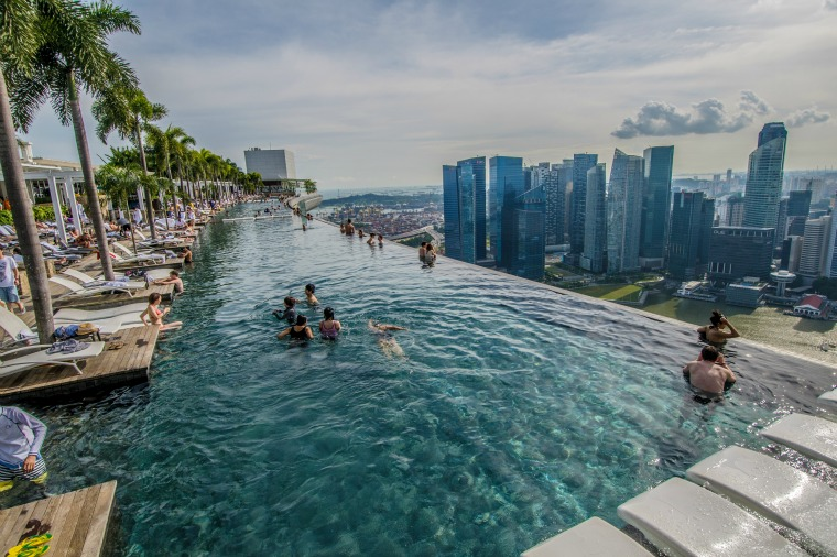 Infinity Pool at Marina Bay Sands – Singapore