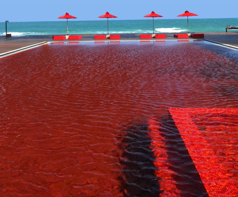The Red Pool at The Library – Koh Samui