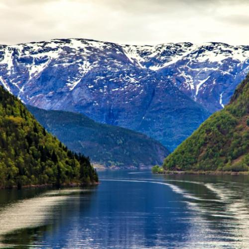 Norwegian landscape: The North Sea and fjord cruise holidays