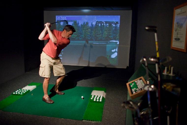SeaDream golf simulator