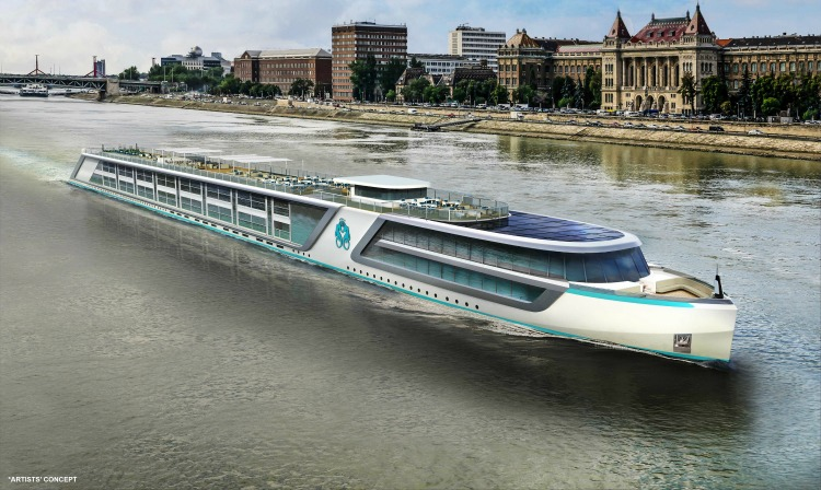 Crystal River Cruises artists concept