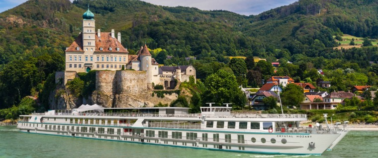 Crystal River Cruises artist impression