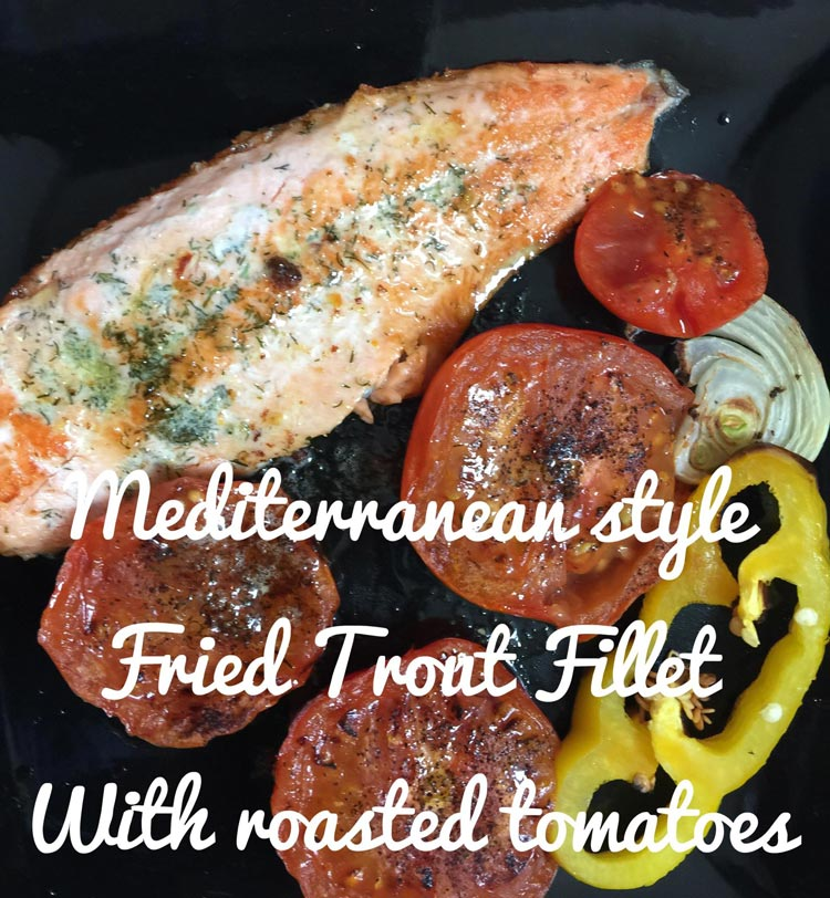 fried fillets of fresh fish