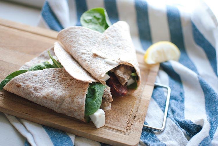 Mediterranean Lamb Wraps