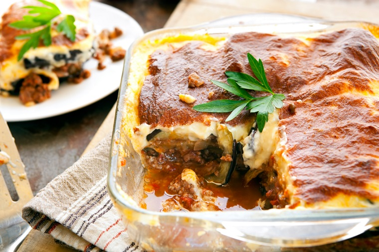 Moussaka Greek Lunch