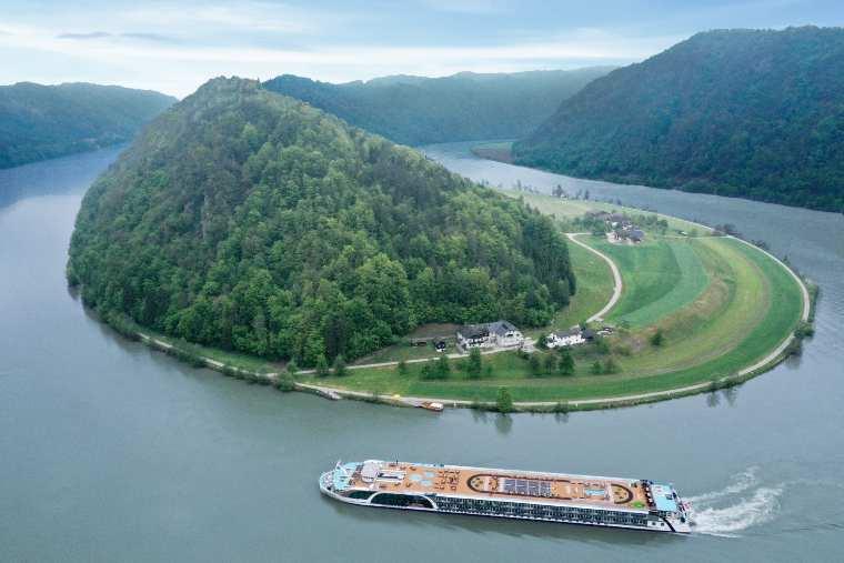 AmaMagna sailing Austrias Schlögener Schlinge Horseshoe_Bend