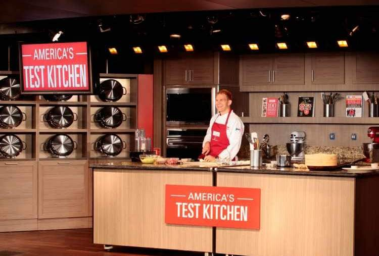 America's Test Kitchen in Holland America