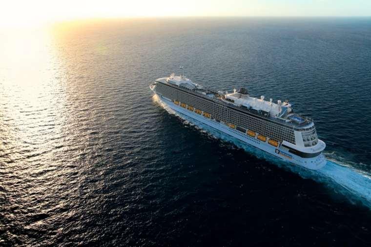 Anthem of the Seas at sea