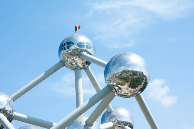 Atomium building in Brussels