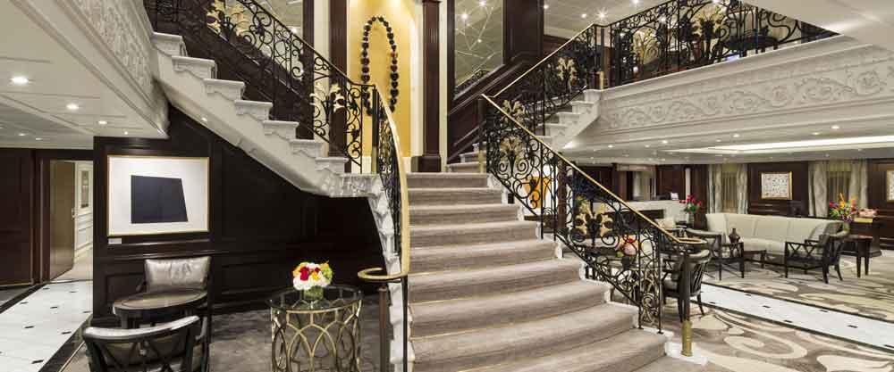 Azamara Stairwell