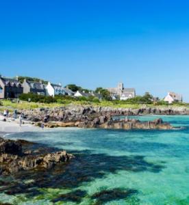 Beach of Iona Island