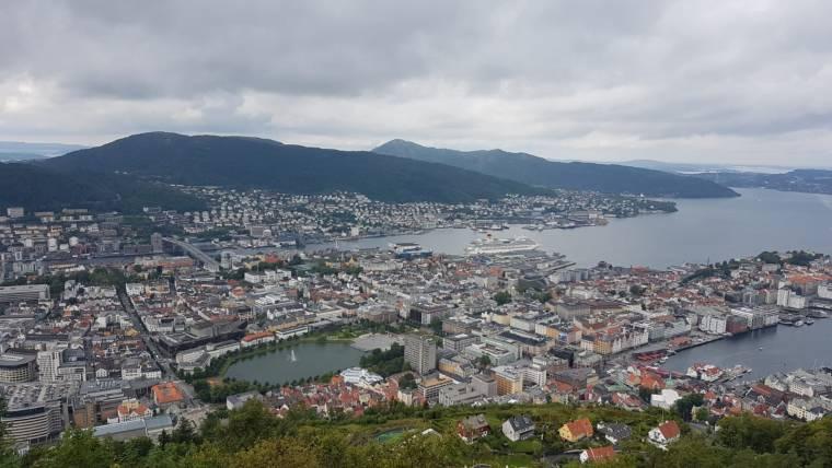 Bergen panoramic view