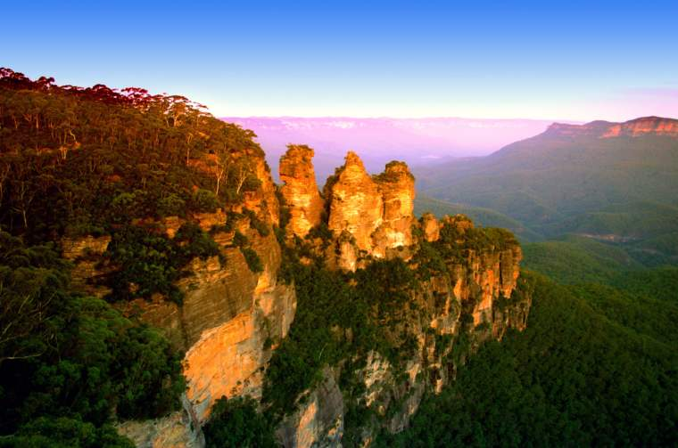 Blue Mountain, Three Sisters, Australia