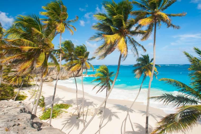 Bottom Bay Beach, Barbados, Caribbean Island