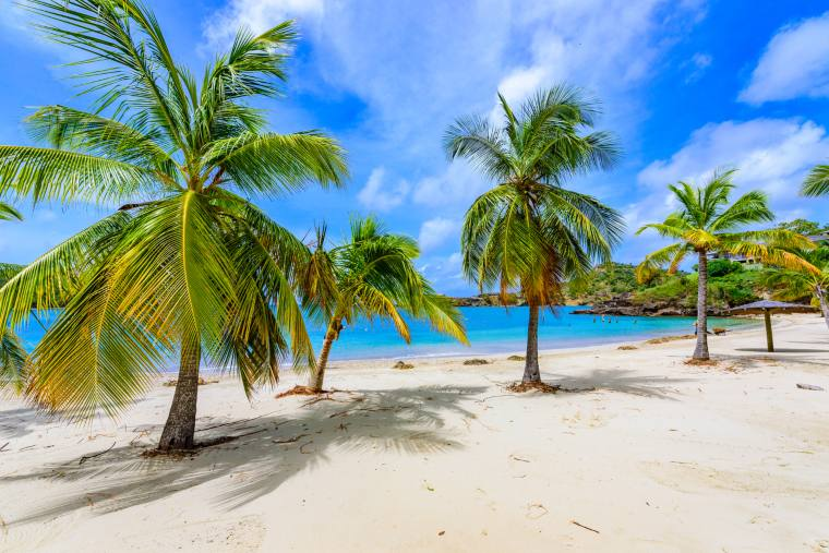 Caribbean island, Antigua