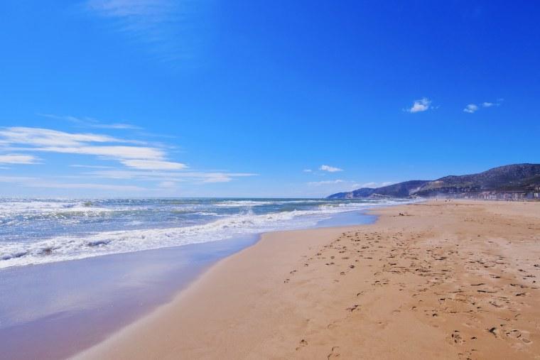 Castelldefels Beach in Barcelona