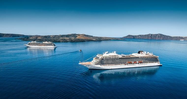 Viking Ocean Cruises at sea