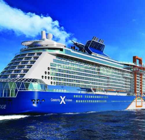 Celebrity Cruises Edge Cruise Ship