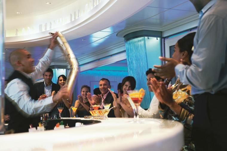 Celebrity Cruises Martini Bar on board