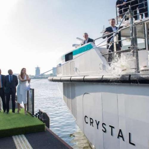 Crystal Debussy Christening Ceremony in Amsterdam