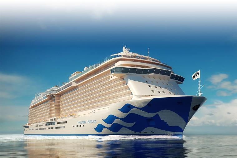 Discovery Princess, Princess Cruises' newest ship