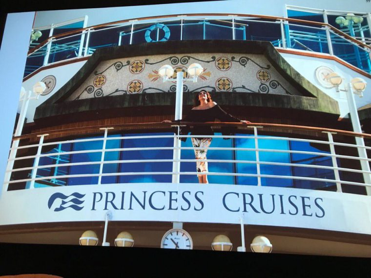 Princess Cruises, Cruising with Jane McDonald
