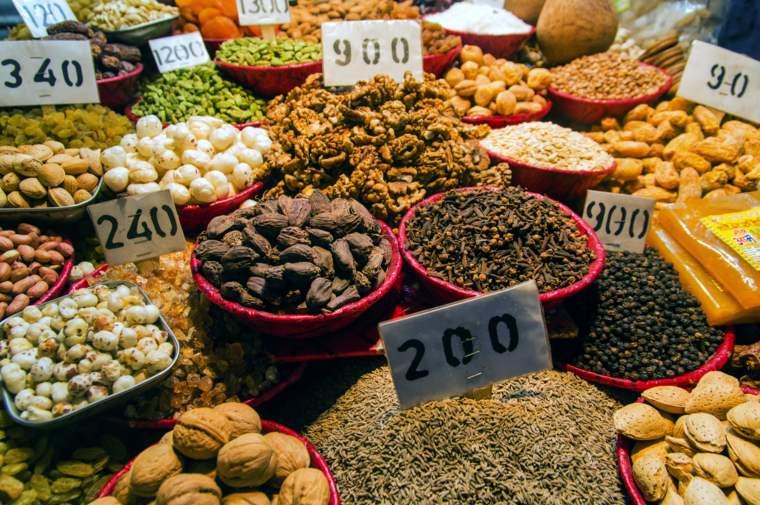 Dried Fruits, Chandni Chowk, India