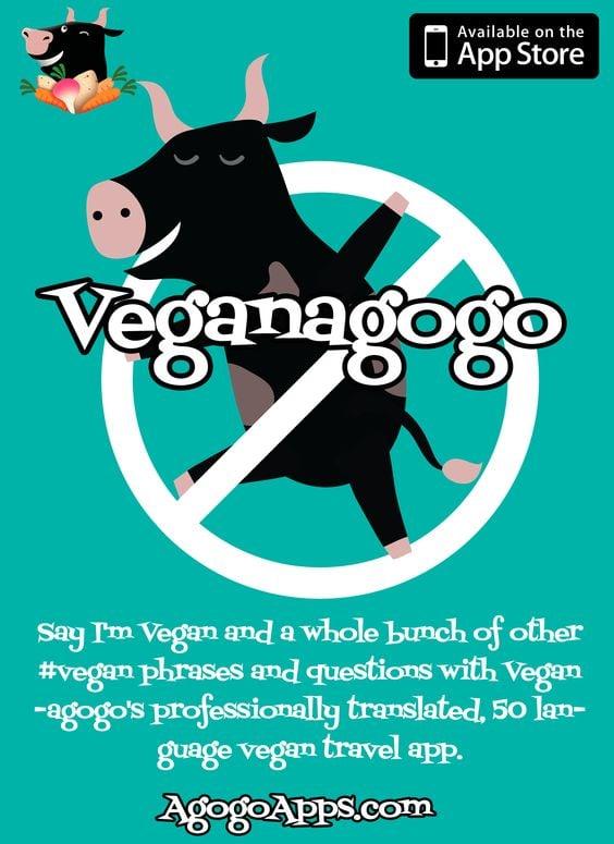 Veganagogo app, world vegan day, vegan cruising