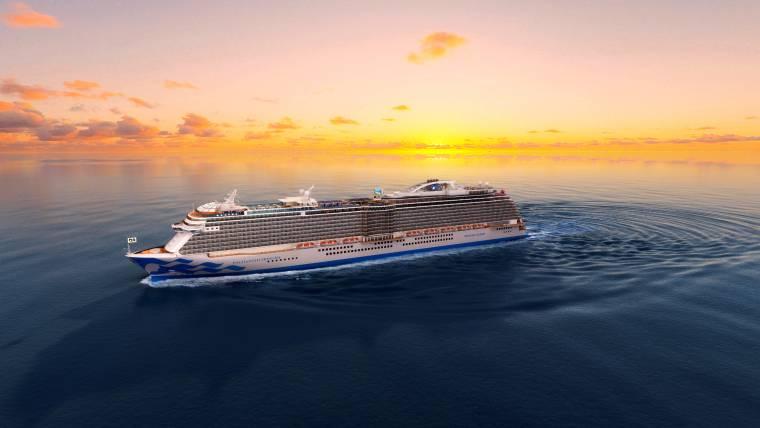 Enchanted Princess, Princess Cruises fifth Royal-Class ship