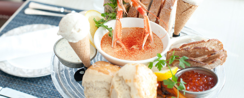 Seafood Afternoon Tea, The Grand