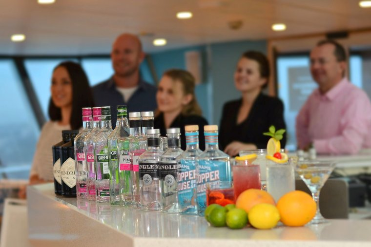 Fred. Olsen Cruise Lines' Gin Masterclasses