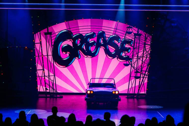 Grease Theatre show on board Royal Caribbean